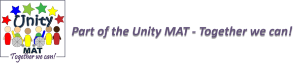 Unity mat strapline and logo